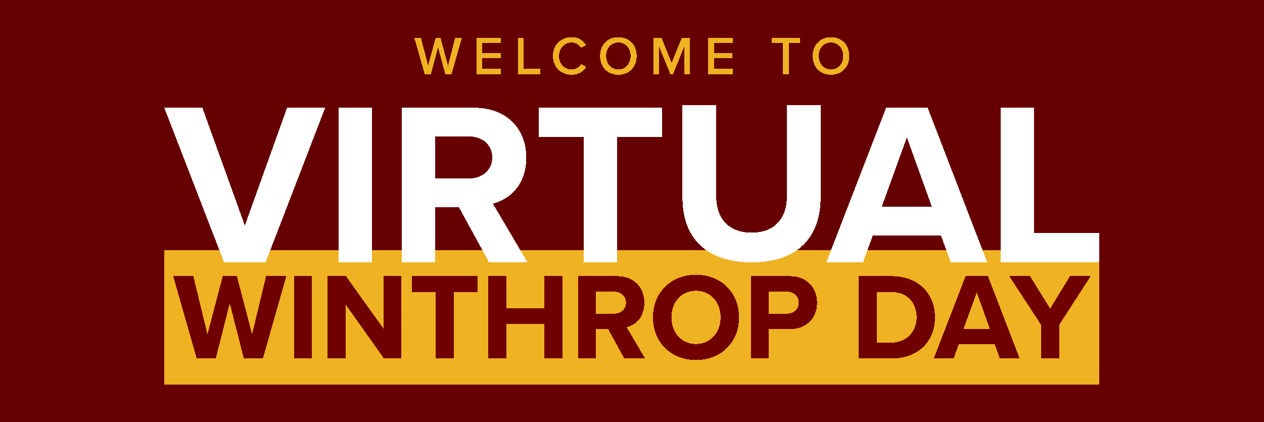 Welcome to virtual Winthrop Day